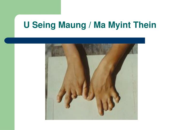 U Seing Maung / Ma Myint Thein