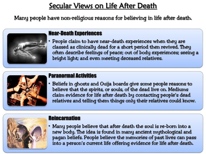 Secular Views on Life After Death