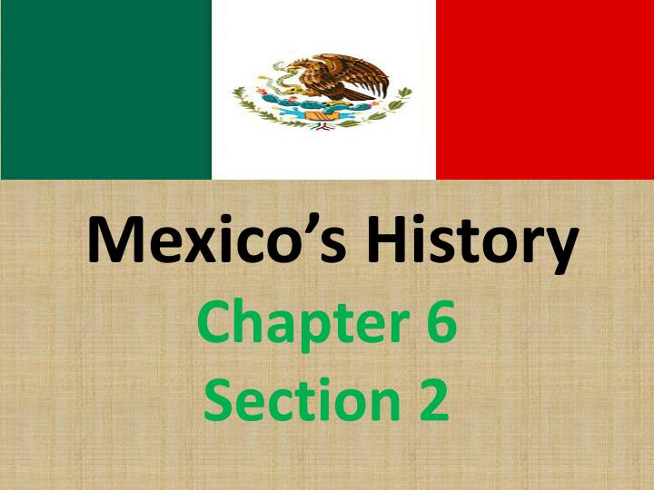 mexico s history n.