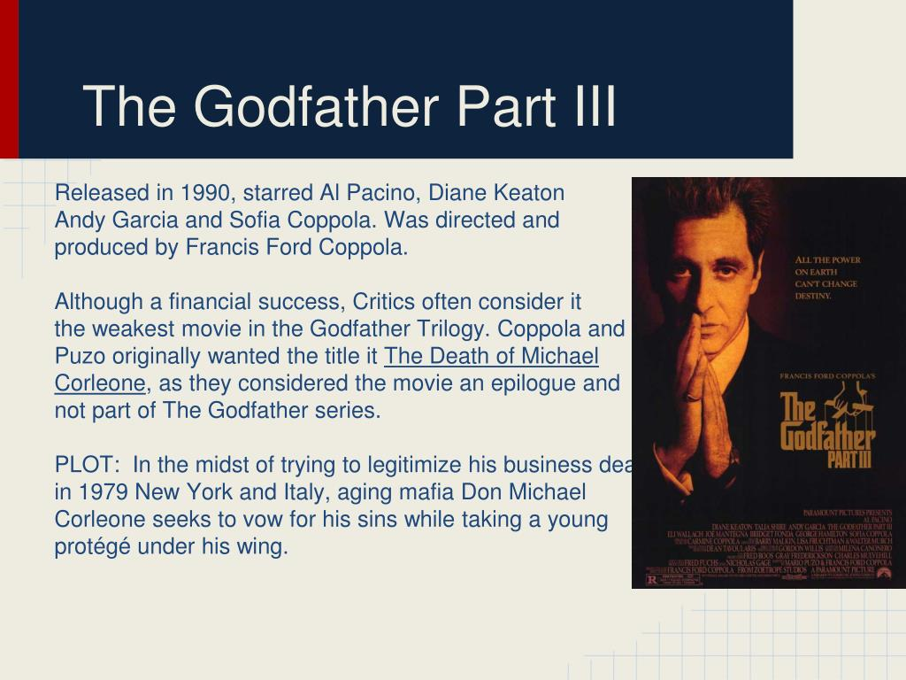 PPT - Francis Ford Coppola PowerPoint Presentation - ID:2131248