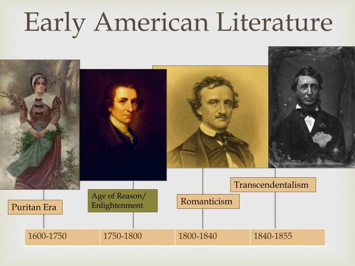 compare enlightenment vs puritan literature