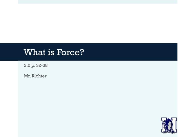 what is force n.