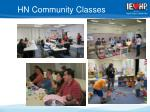 hn community classes