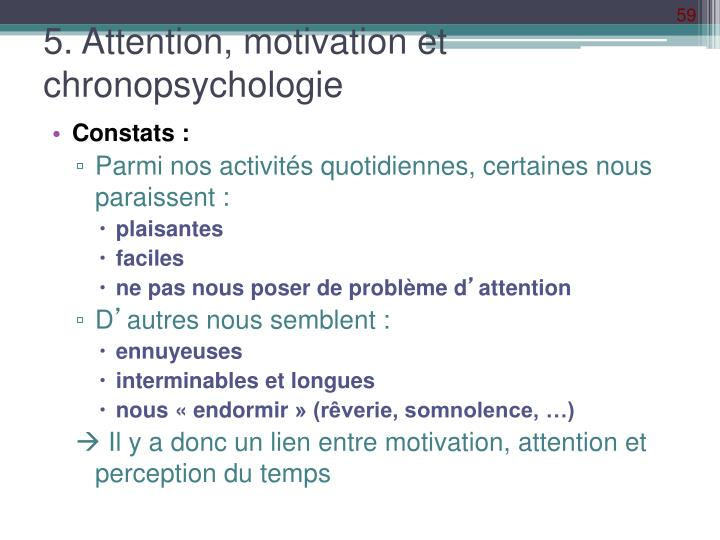 5. Attention