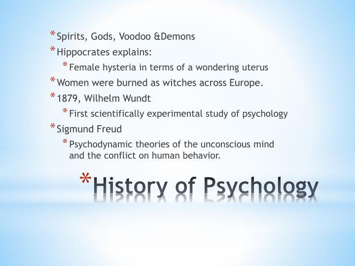 Spirits, Gods, Voodoo &Demons