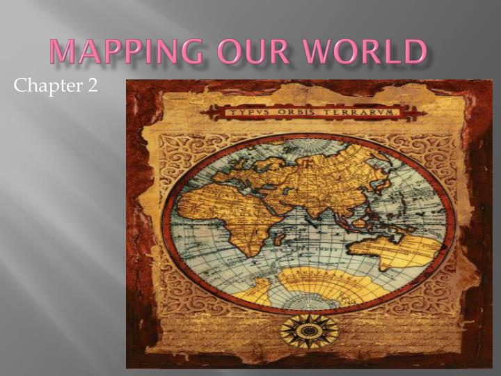 mapping our world n.