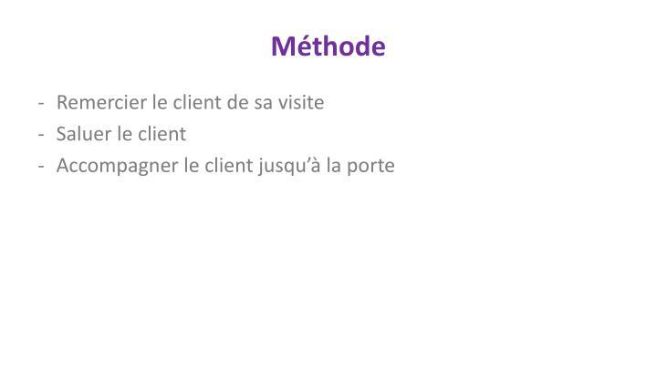 M thode