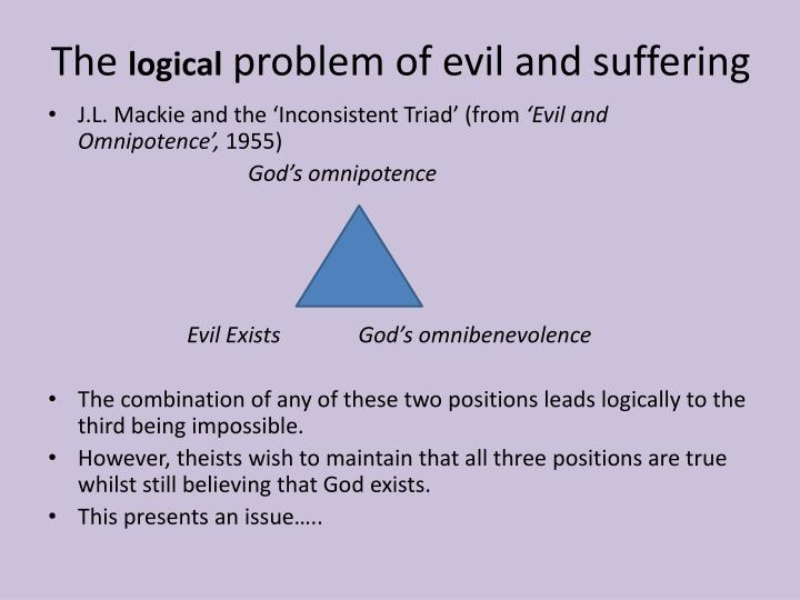 problem evil essay To present the problem of evil you must first know that evil exists david humeð²ð'™s view on the problem of this is to be understood is in the form of undeserved suffering, perpetrated by man and nature, unchallenged victimization of weak by strong, pestilence, war, famine, and other horrors.