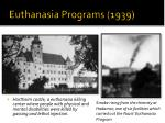euthanasia programs 1939