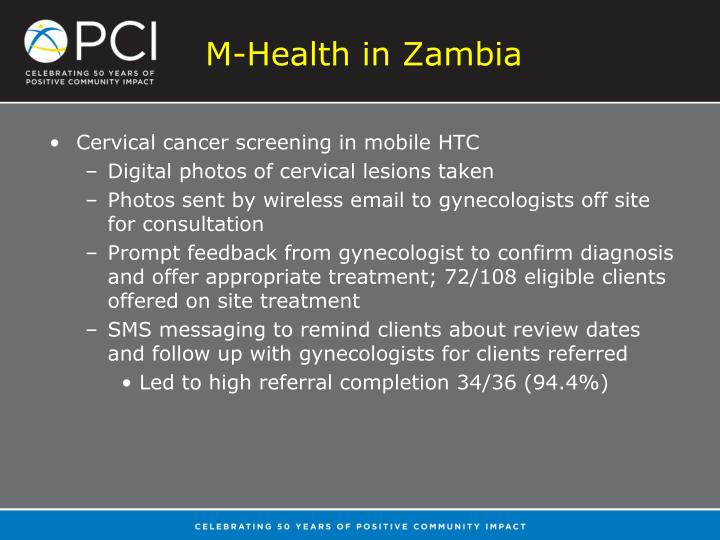 M-Health in Zambia