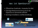 was ist opensource
