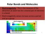 polar bonds and molecules2