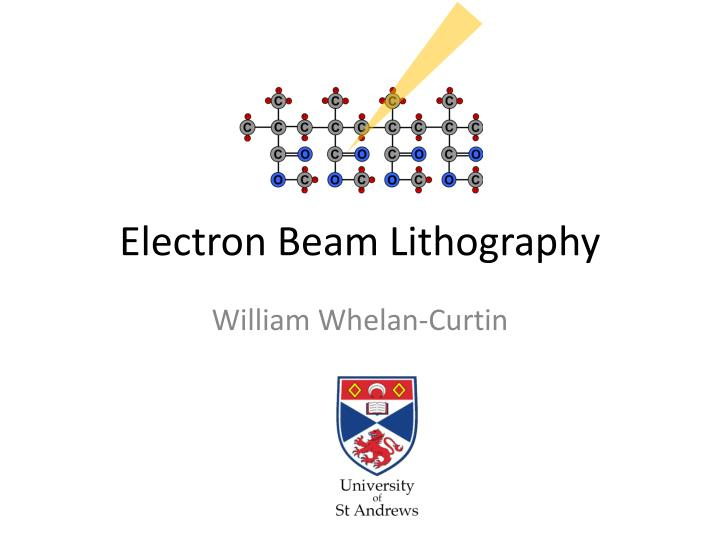 electron beam lithography n.