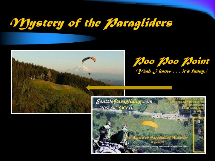 mystery of the paragliders n.