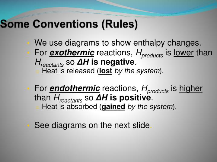 Some Conventions (Rules)