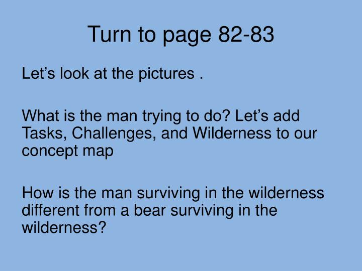 Turn to page 82-83