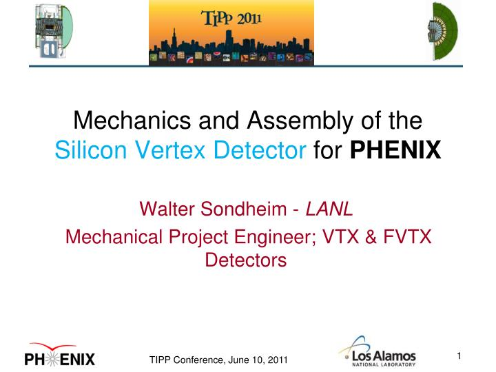 mechanics and assembly of the silicon vertex detector for phenix n.