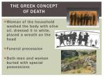 the greek concept of death