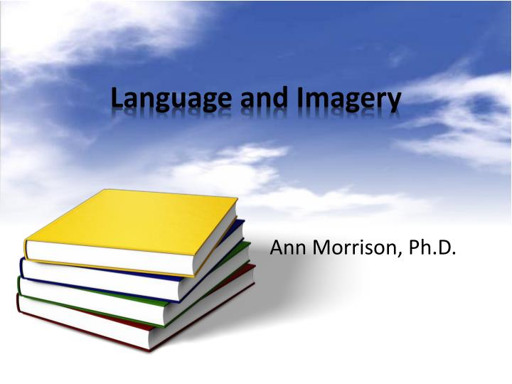 language and imagery n.