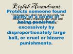 eighth amendment1