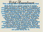fifth amendment1