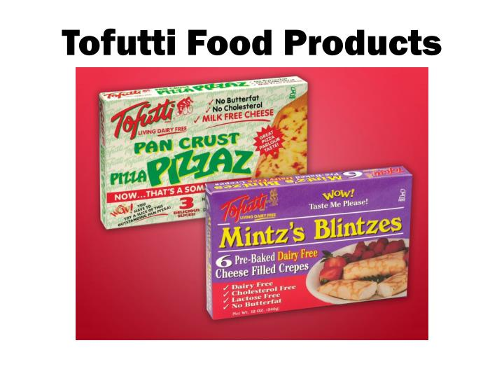 tofutti food products n.