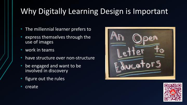 Why Digitally Learning Design is Important