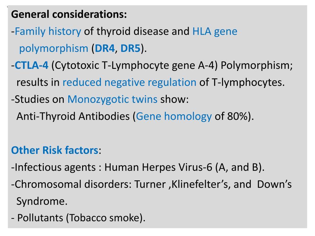 PPT - Thyroid Autoimmune Diseases: PowerPoint Presentation
