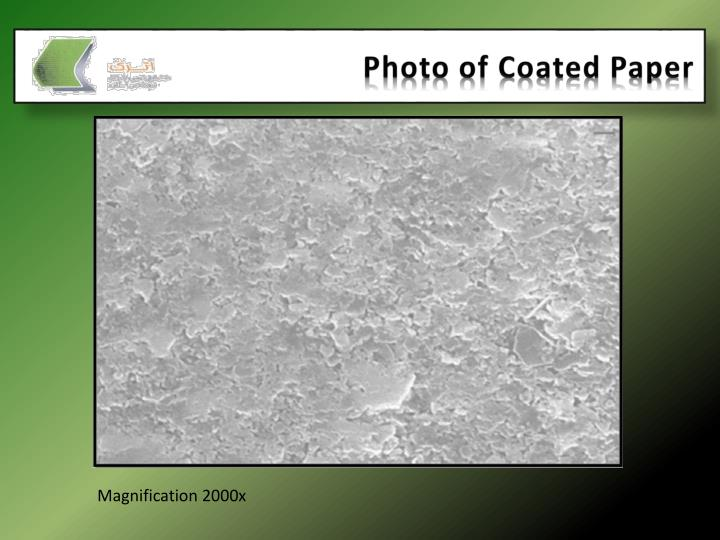 Photo of Coated Paper