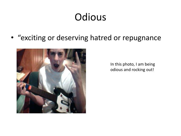 Odious