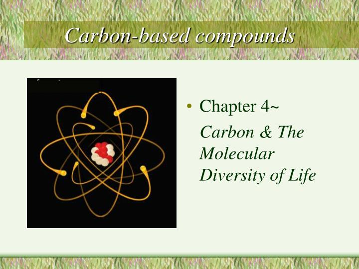carbon based compounds n.
