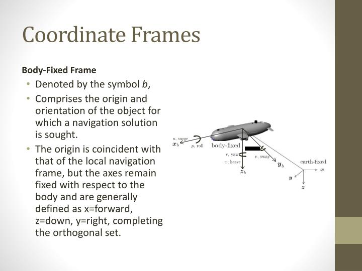 PPT - Fundamentals of Navigation Systems PowerPoint Presentation ...