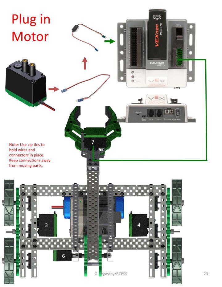 Plug in Motor