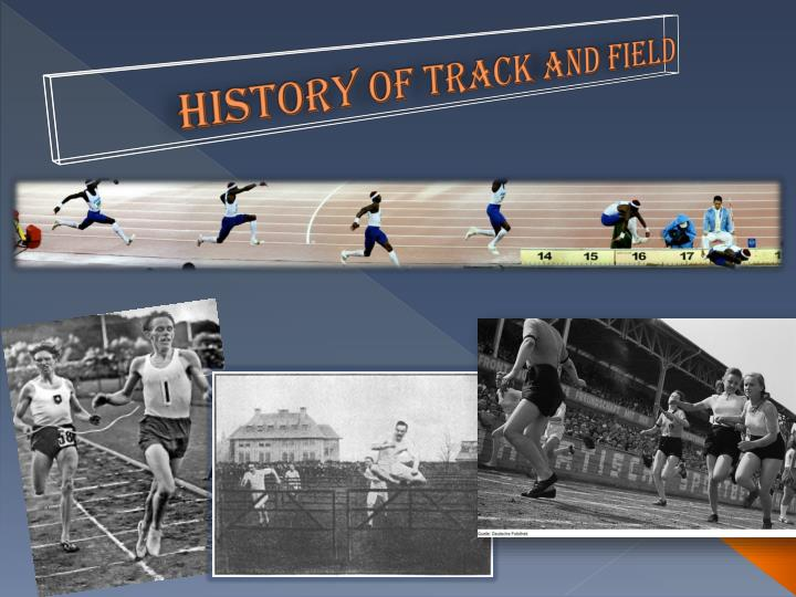 history of track and field n.