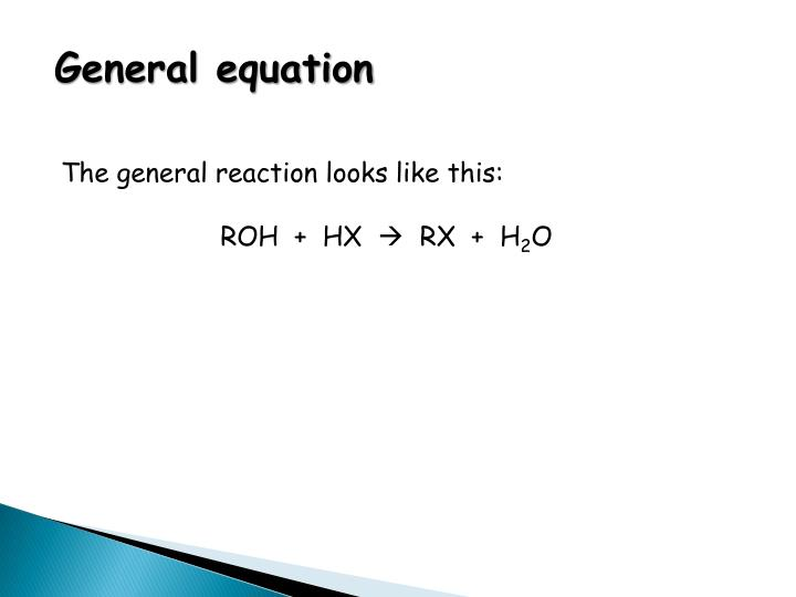 General equation