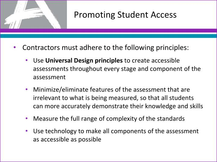 Promoting Student Access