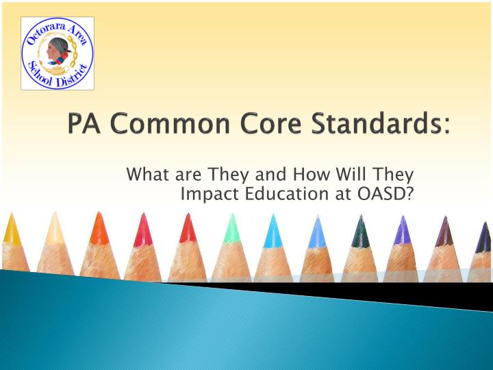 pa common core standards n.