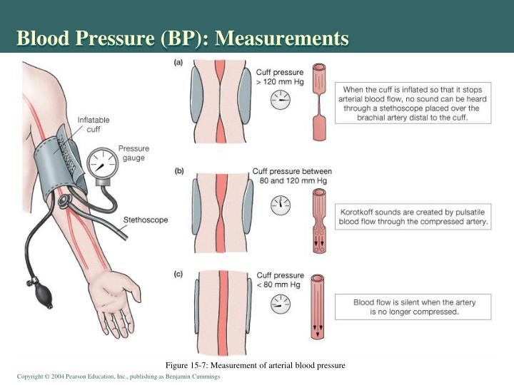Blood Pressure (BP): Measurements