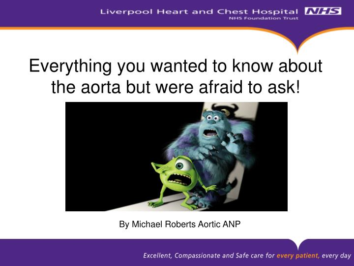 everything you wanted to know about the aorta but were afraid to ask n.