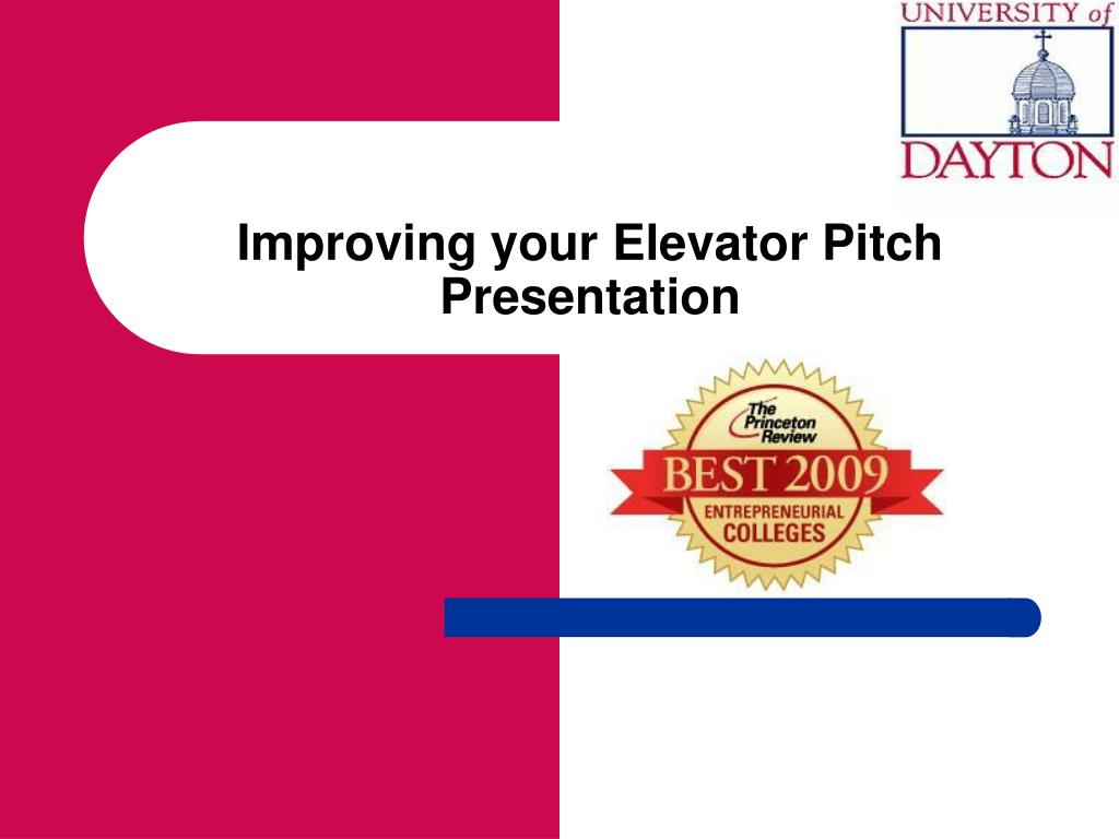 ppt improving your elevator pitch presentation powerpoint