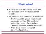 why el values