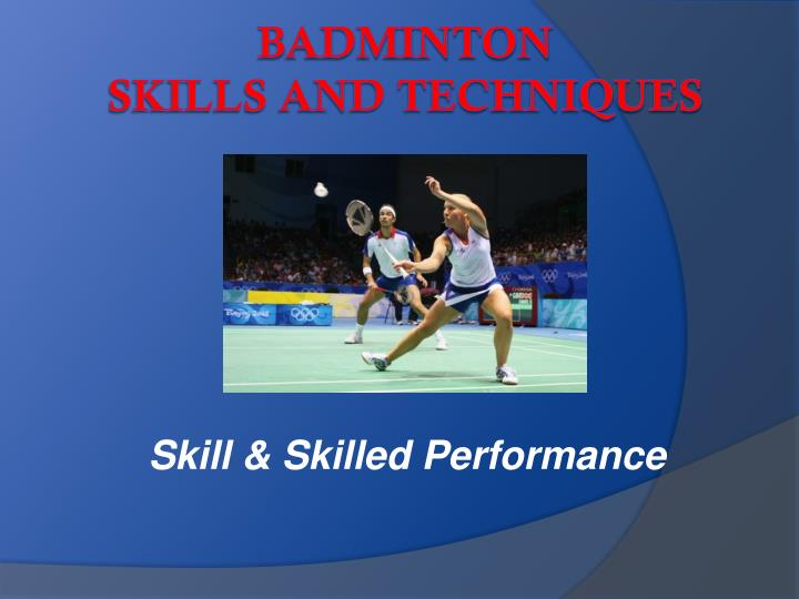 skill skilled performance n.