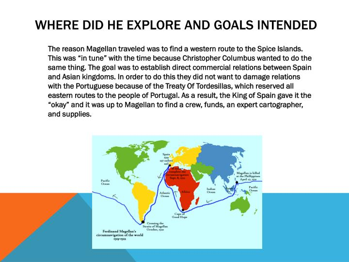 what was ferdinand magellan goal