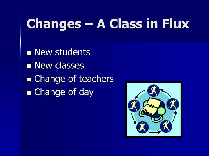 Changes – A Class in Flux