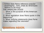 questions again