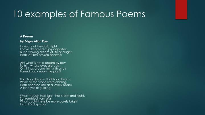 Ppt What Is Poetry Powerpoint Presentation Id2135541