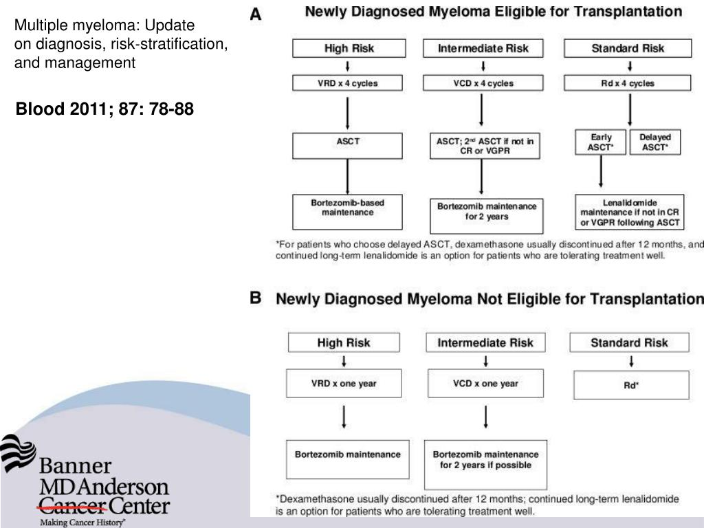 PPT - Treatment of Multiple Myeloma with Stem Cell