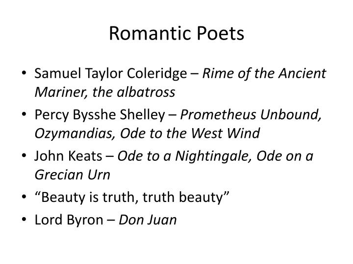 "a comparison of ode to the west wind by percy bysshe shelley and ode to a nightingale by john keats John constable: british landscape artist george walker: english painter joseph   taylor coleridge george gordon, lord byron john keats percy bysshe  shelley  i will not reason and compare: my business is to create  ode to the  nightingale  ""ozymandias"" ""ode to the west wind"" ""the masque of anarchy"" "" to a."