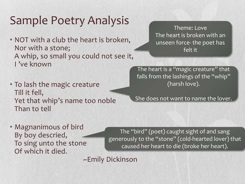 PPT - Poetry PowerPoint Presentation - ID:2135609