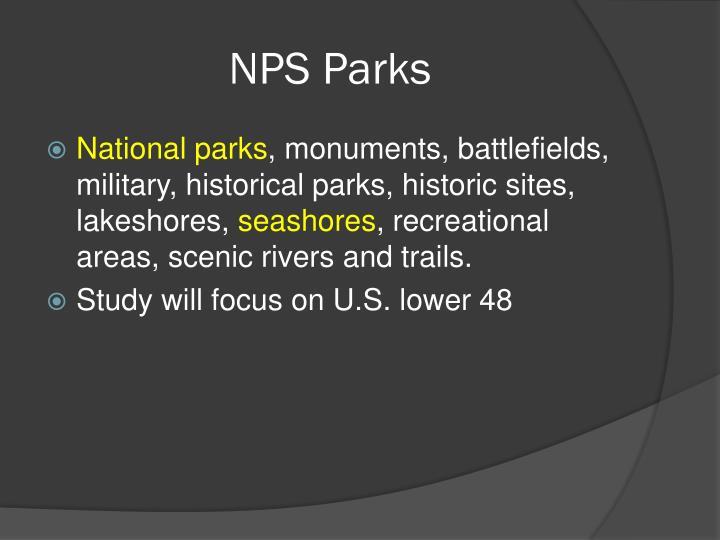 Nps parks